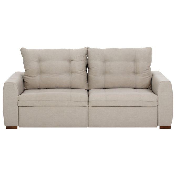 Stitch-Sofa-Retratil-3-Lugares-Poli-Bege-Doha