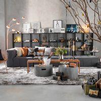 Sofa-2-Lugares-Entrelace-Konkret-Sofo