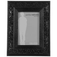 Porta-retrato-10-Cm-X-15-Cm-Preto-Brilhante-Gothic