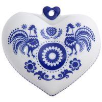 Vaso-Parede-10-Cm-Branco-azul-Austral-Folksy