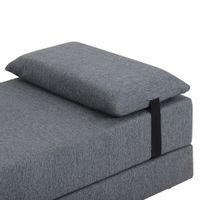 Sofa-cama-2-Lugares-Cinza-preto-Strap