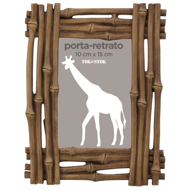 Porta-retrato-10-Cm-X-15-Cm-Castanho-Khao