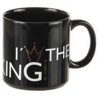 Caneca-300-Ml-Preto-ouro-I-m-The-King