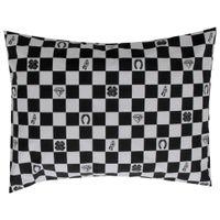 Simbolos-Fronha-50x70-Branco-preto-Lucky