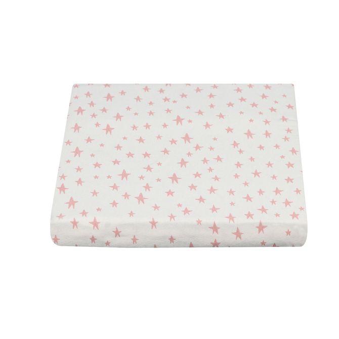 Lencol-El-Solteiro-88x188x30-Cream-rosa-Antique-Sonho-Meu