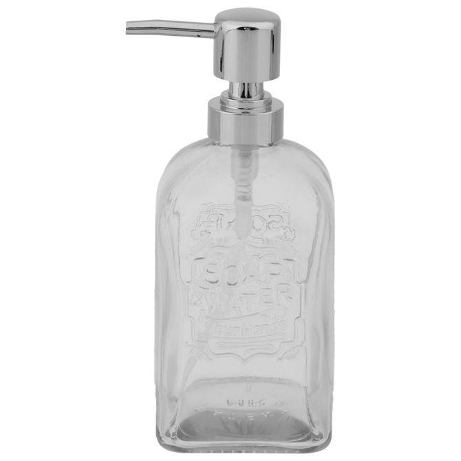 Porta-sabonete-Liquido-Incolor-cromado-Soap-Water