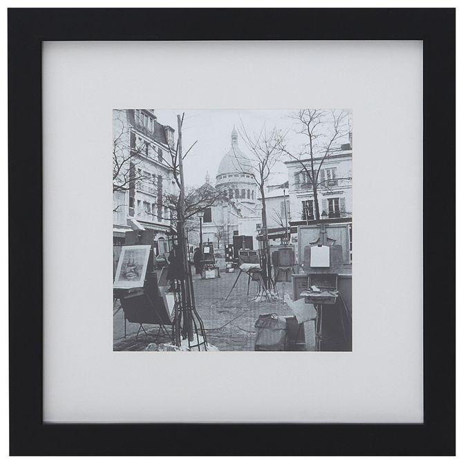 Place-Du-Tertre-Qudr-28-Cmx-28-Cm-Preto-branco-Paris