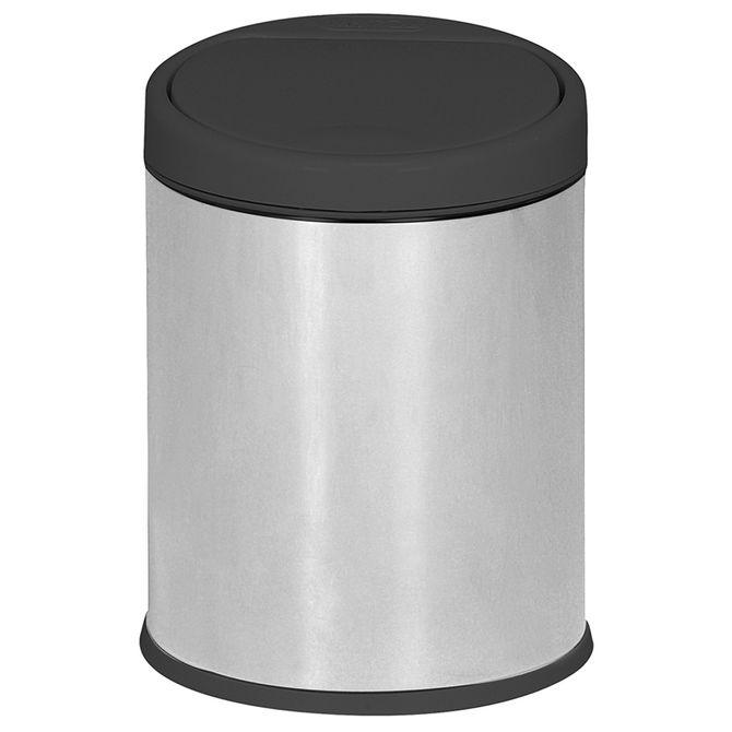Lixeira-Pia-3-L-Inox-preto-One-touch
