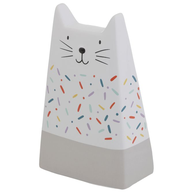 Adorno-17-Cm-Branco-multicor-Kitten