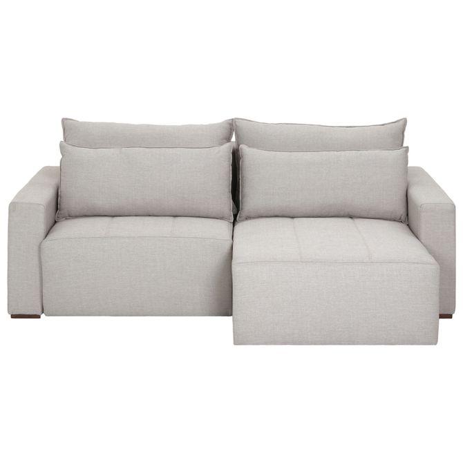 Stupendous Astor Sofa Retratil 3 Lugares Cinza Claro Machost Co Dining Chair Design Ideas Machostcouk