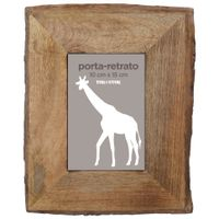 Bark-Porta-retrato-13-Cm-X-18-Cm-Castanho-Mango