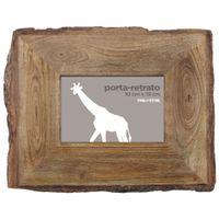Bark-Porta-retrato-10-Cm-X-15-Cm-Castanho-Mango