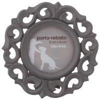 Le-Portail-Porta-retrato-8-Cm-X8-Cm-Cinza-Provence-Dans
