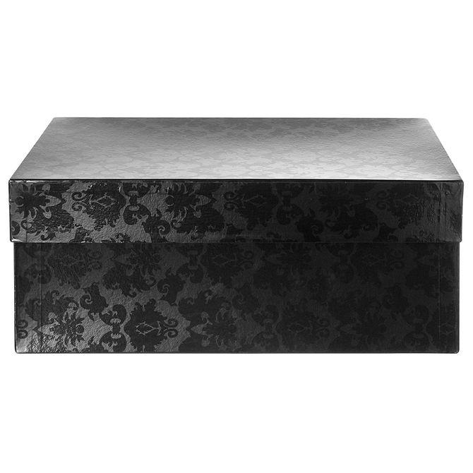 Brocade-Caixa-50-Cm-X-30-Cm-X-20-Cm-Preto-preto-Brilhante-Giftbox-Brocade