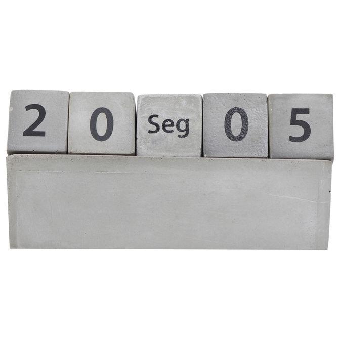 Calendario-Mesa-Konkret-preto-Beton