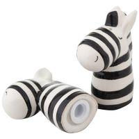 Zebras-Saleiro-pimenteiro-Preto-branco-Funny-Bugs