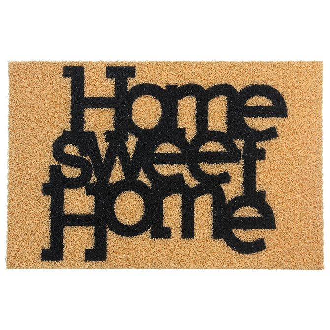 Capacho-40-Cm-X-60-Cm-Bege-preto-Home-Sweet-Home
