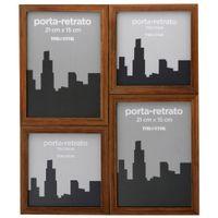 Porta-retrato-Multiplo-P-4-Castanho-Ramme