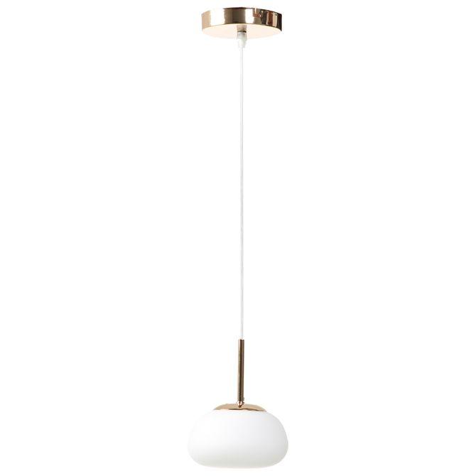 Luminaria-Teto-9-Cm-Branco-dourado-Gota