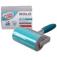 Rolo-Adesivo-Lavavel-Cinza-menta-Flash-Limp