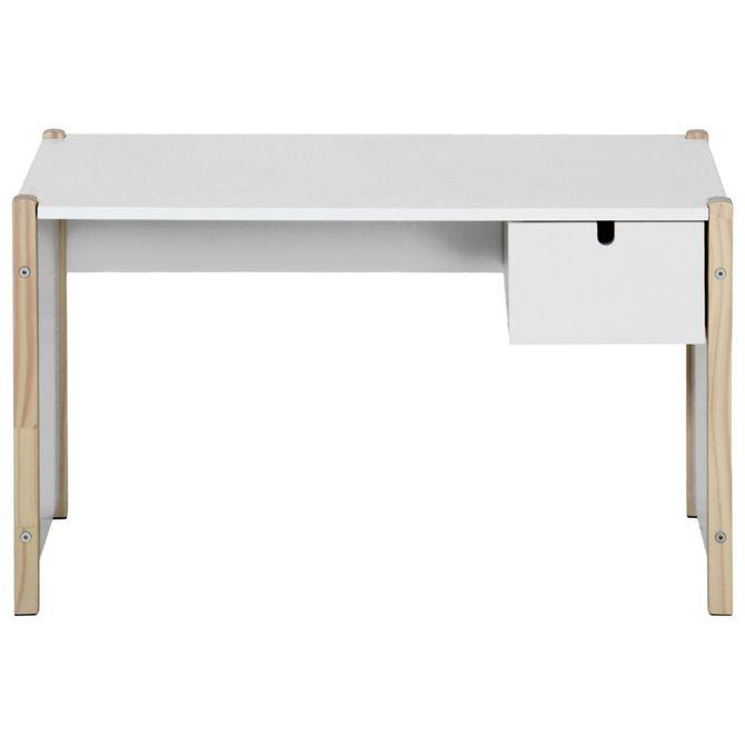 Escrivaninha-Infantil-86x40-Natural-Washed-branco-Pin-Play
