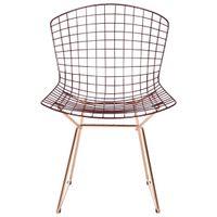 Cadeira-Cobre-garnet-Bertoia