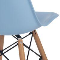 Iii-Cadeira-Natural-azul-Claro-Eames-Wood