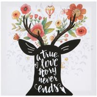 True love tela 28 cm x 28 cm 2vrd.