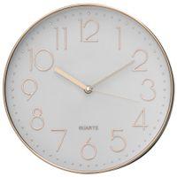 Relogio-Parede-32-Cm-Cobre-branco-Oh-Clock