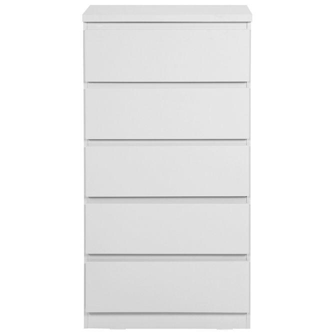 Comoda-5gv-60x40-Branco-Mince