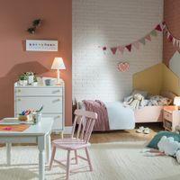 Cadeira-Infantil-Rosa-Claro-Country