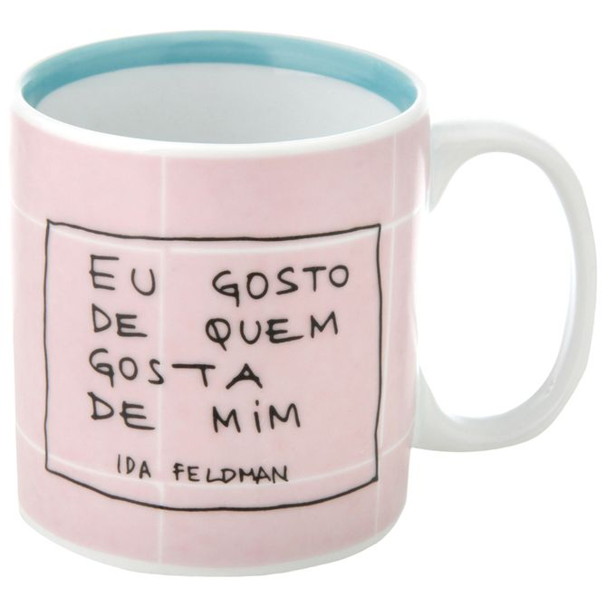 Ida---Quem-Gosta-Caneca-330-Ml-Rosa-Claro-azul-Claro-Reflexoes-Da-Ida-Feldman