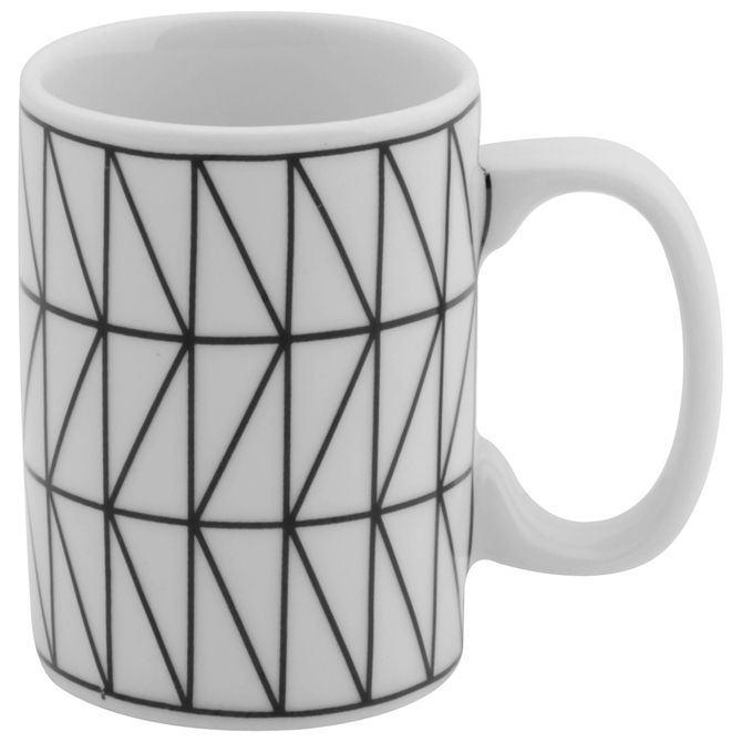 Trian-Caneca-130-Ml-Branco-preto-Geometrique