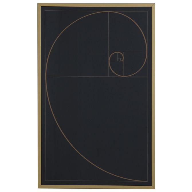 Quadro-57-Cm-X-90-Cm-Preto-dourado-Proporcao-Aurea