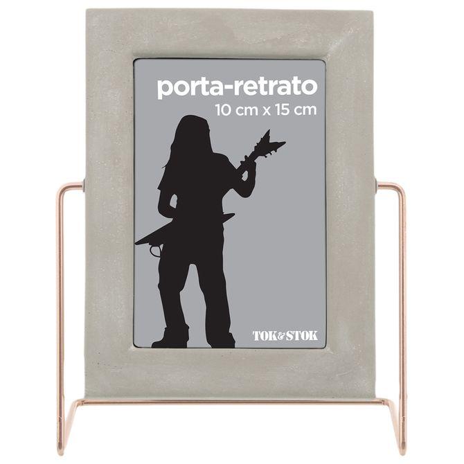 Lines-Porta-retrato-10-Cm-X-15-Cm-Konkret-cobre-Beton