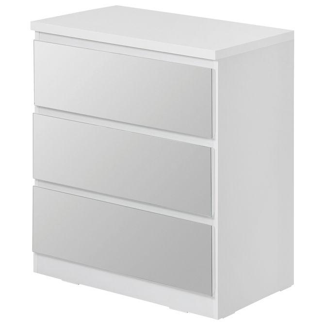 Criado-mudo-3gv-Branco-prata-Mince
