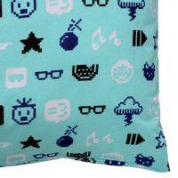 Monica-Geek-Fronha-50x70-Menta-cores-Caleidocolor-Monica-Toy-Geek