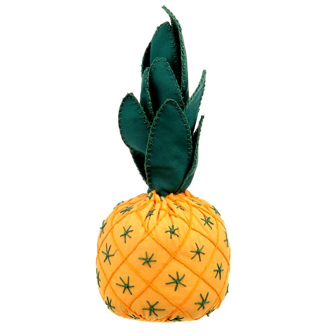 Peso-Para-Porta-20-Cm-X-10-Cm-Amarelo-verde-Ananas