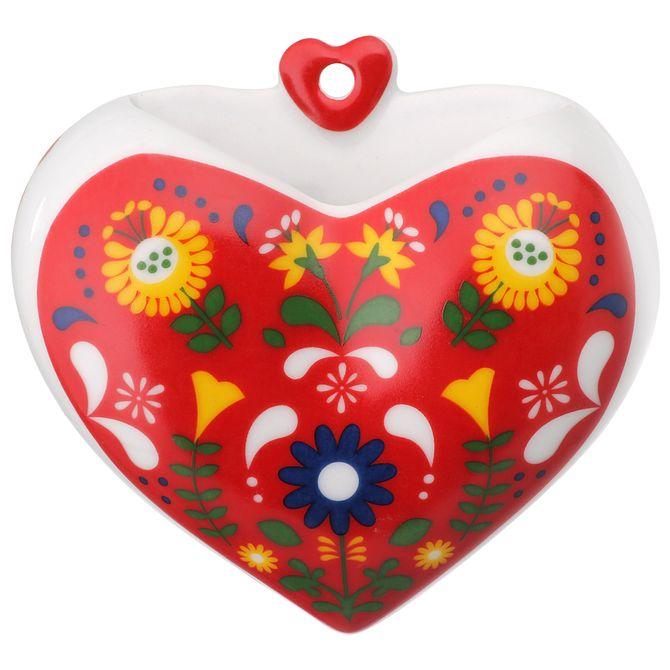 Bloom-Vaso-Parede-10-Cm-Branco-vermelho-Folksy