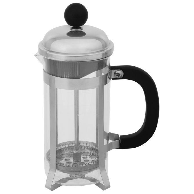 Cafeteira-Prensa-Francesa-350-Ml-Incolor-inox-Tortoni