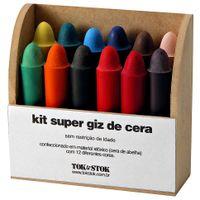 Colori-Super-Kit-Giz-De-Cera-12-Pcs-Natural-multicor-Super-Giz-De-Cera