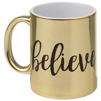 Believe-Caneca-300-Ml-Ouro-preto-Wish-And-Shout