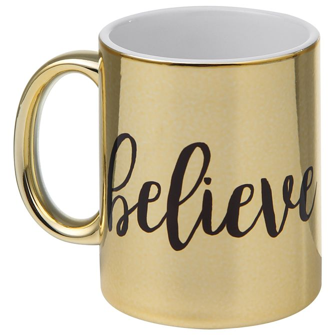 Believe-Caneca-300-Ml-Ouro-preto-Wish-And-Shout