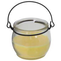 Vela-Perfumada-Pote-5-Cm-X-7-Cm-Incolor-amarelo-Sossego