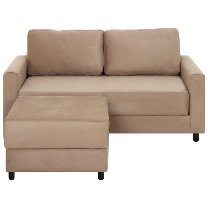 Sofa-2-Lugares-C--Pufe-Suede-Camelo-Trisof