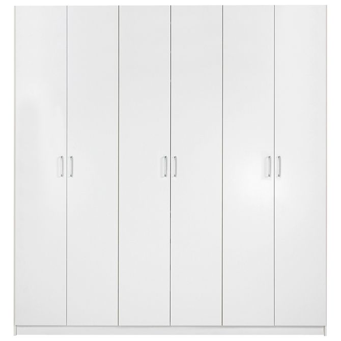 Guarda-roupa-6-Portas-Branco-Ruler