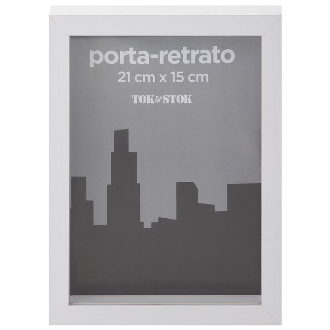 Porta-retrato-15-Cm-X-21-Cm-Branco-In-depth