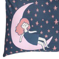 Fronha-50x70-Azul-Escuro--Rosa-Antique-Sonho-Meu