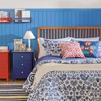 Edredom-Casal-queen-240x250-Azul-Escuro-branco-Folksy