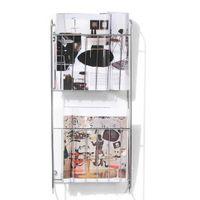Porta-revistas-Parede-Duplo-Cromado-Structure